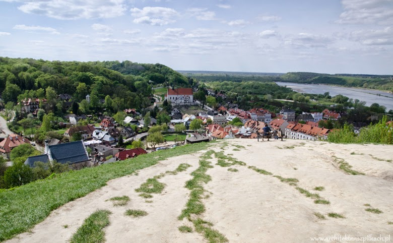 Lubelskie, Poland, what to visit. Architecture of Kazimierz Dolny.