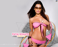 Payal Rohatgi in Pink Bikini | Bollywood Actress in Bikini