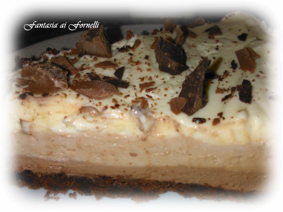 cheesecake triple chocolate