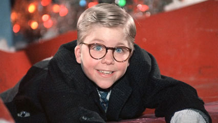 Ralphie in A Christmas Story 1983 movieloversreviews.blogspot.com