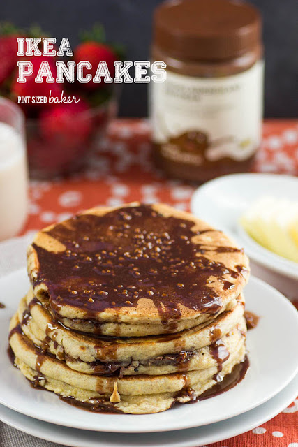 IKEA hack stuffed pancakes are great for breakfast, lunch and dinner! We're making some this weekend!