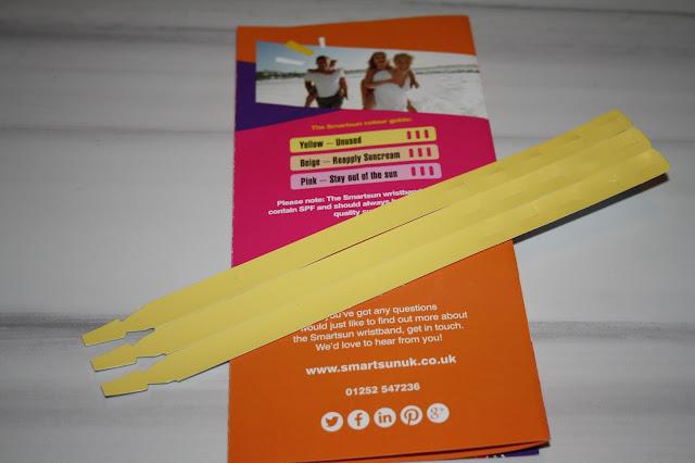 Smartsun UV indicator wristbands