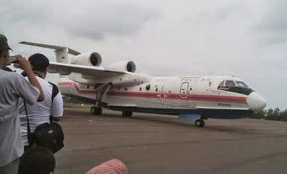 pesawat amfibi rusia pencarian AirAsia QZ 8501