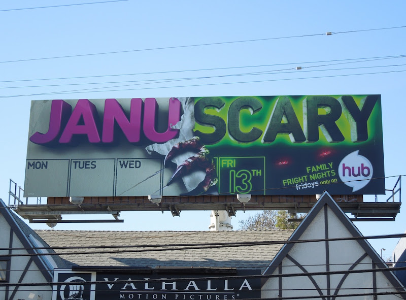 The Hub Januscary billboard