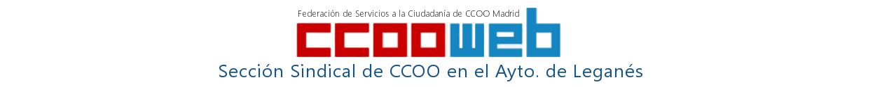 ccooweb - S.S. CCOO Ayto. Leganés