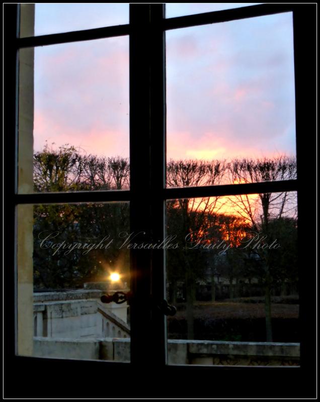 Sunset Petit Trianon Versailles Marie-Antoinette