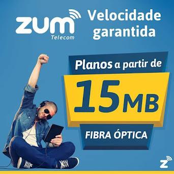 Zum Telecom ! A melhor Internet da região