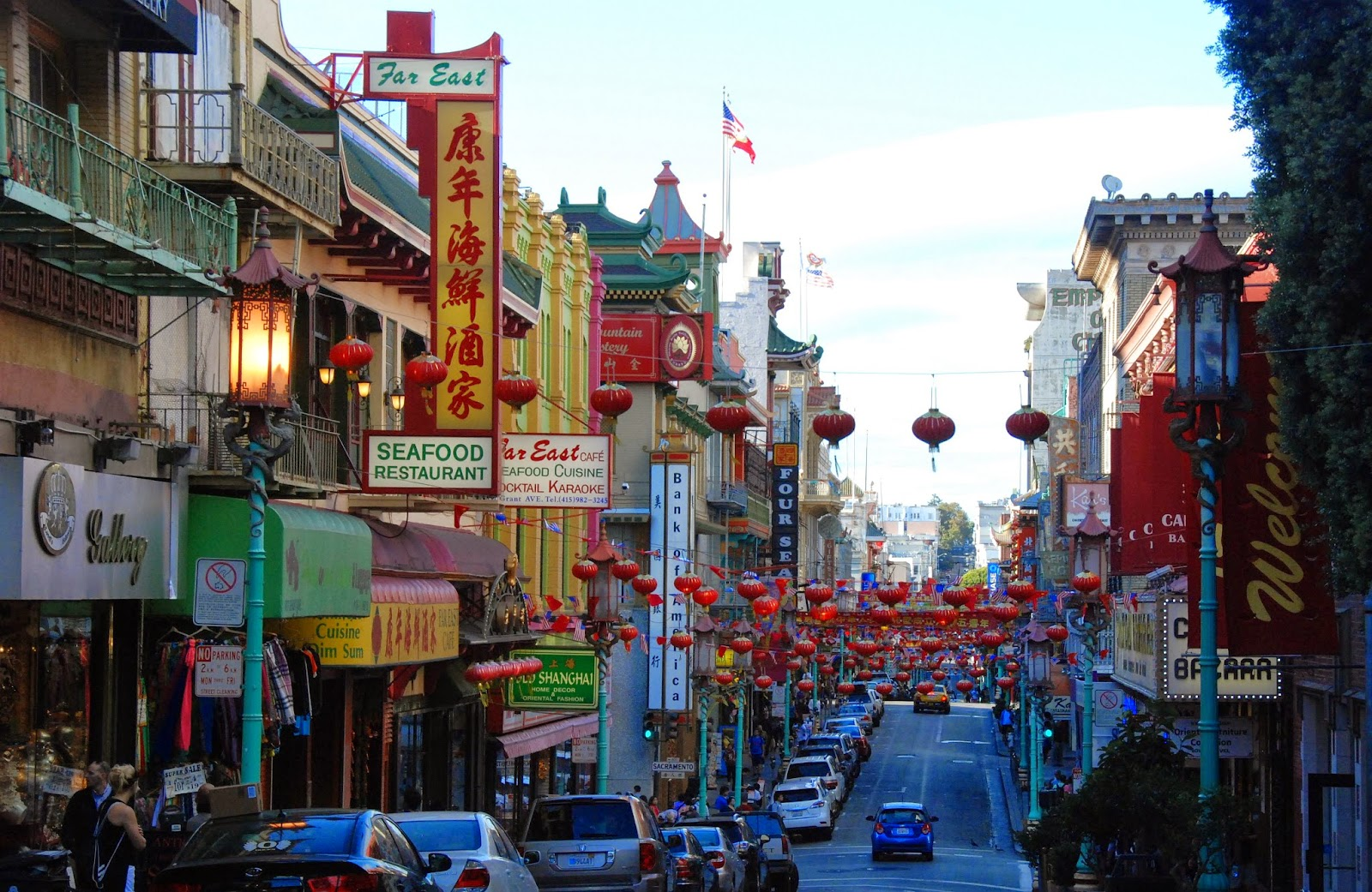 chinatown, grant avenue, san francisco, california