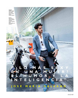 José María Galeano revista Grazia México