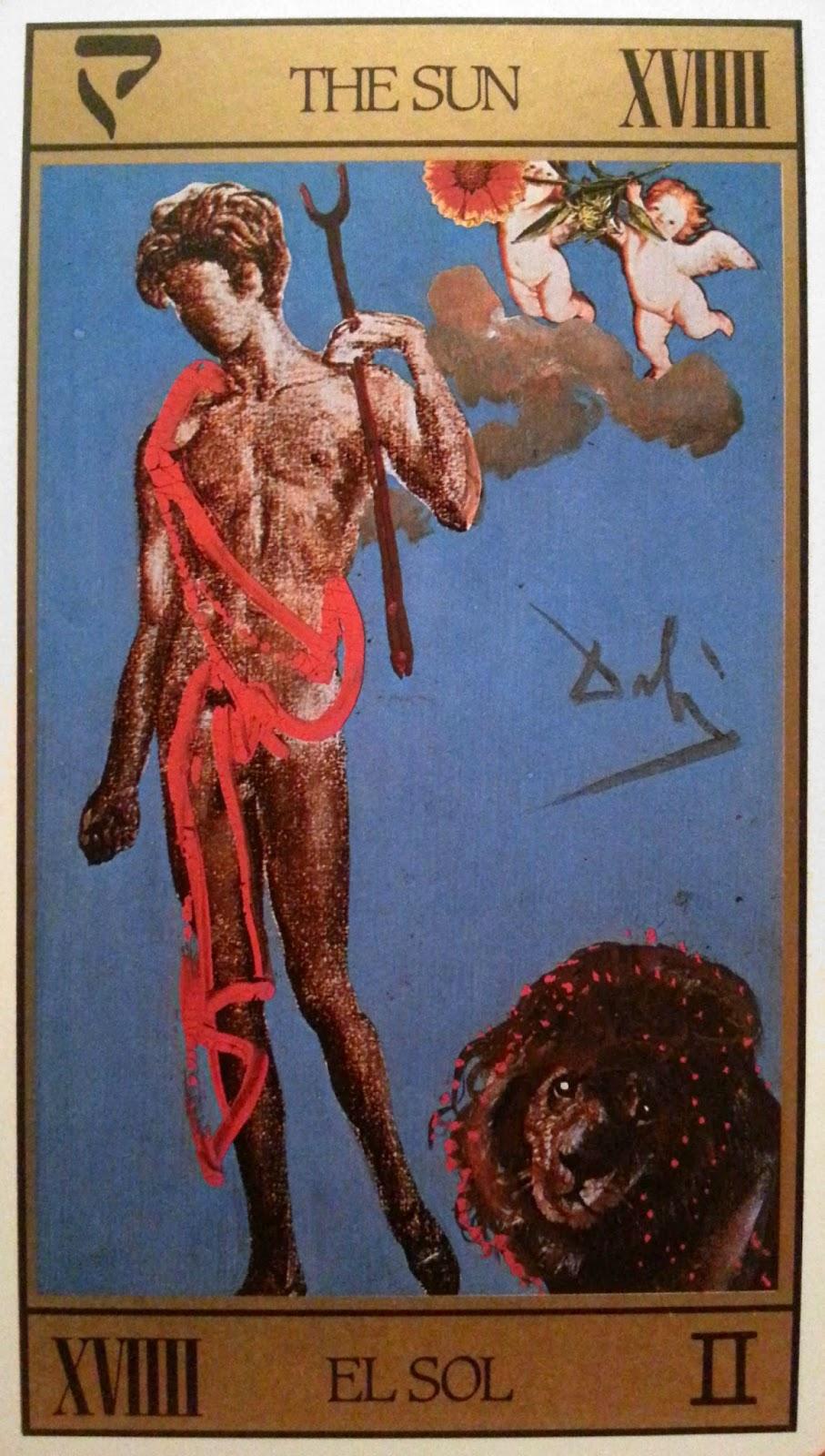 El Sol- Tarot Dalí