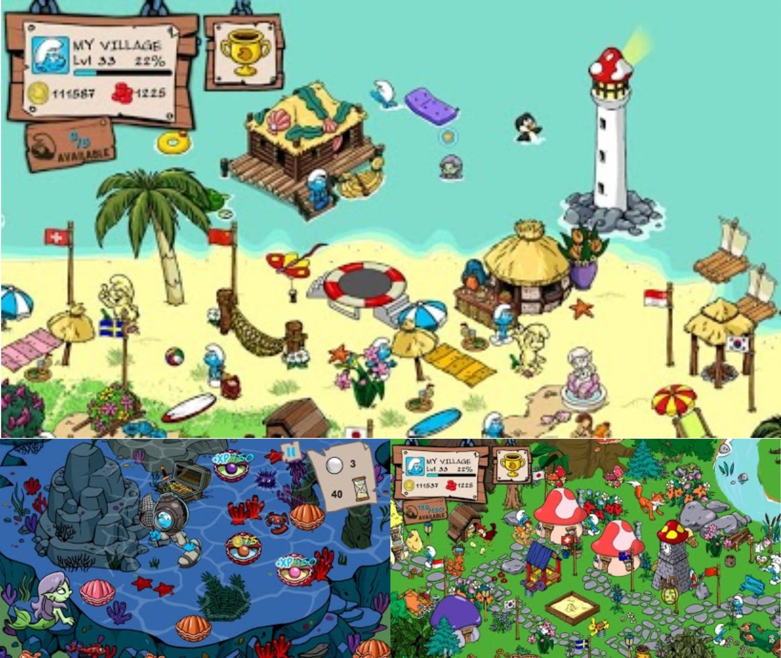 Link Download Smurfs Village Apk Android