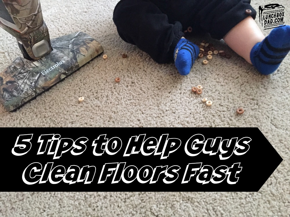 5 Steps to Help Guys Clean Floors Fast