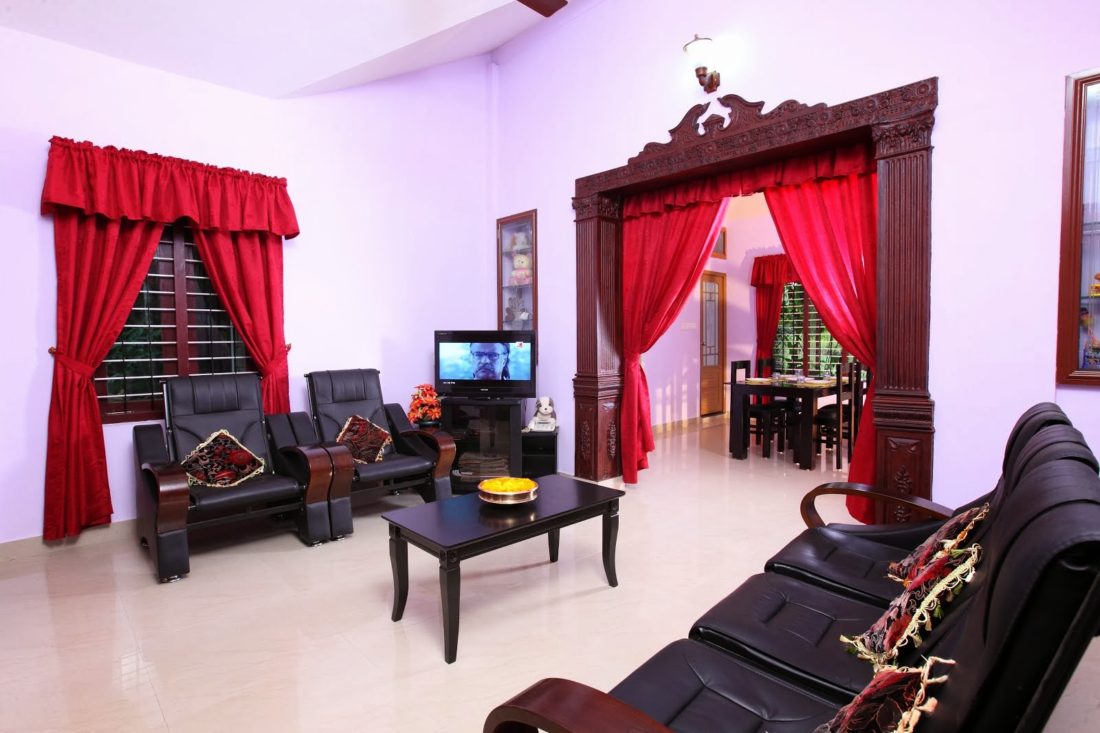 Simple and lowcost interlock homes kerala interior designs for Kerala homes interior designs