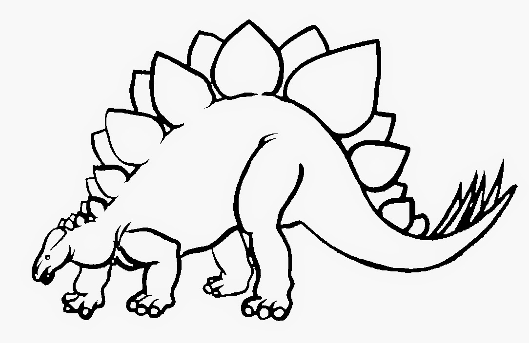 Coloring Pages Dinosaur Free Printable