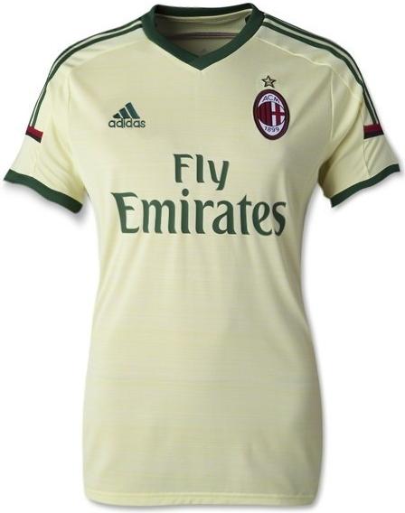 Jersey Bola Terbaru Ac Milan Womens Third Kits 14-15