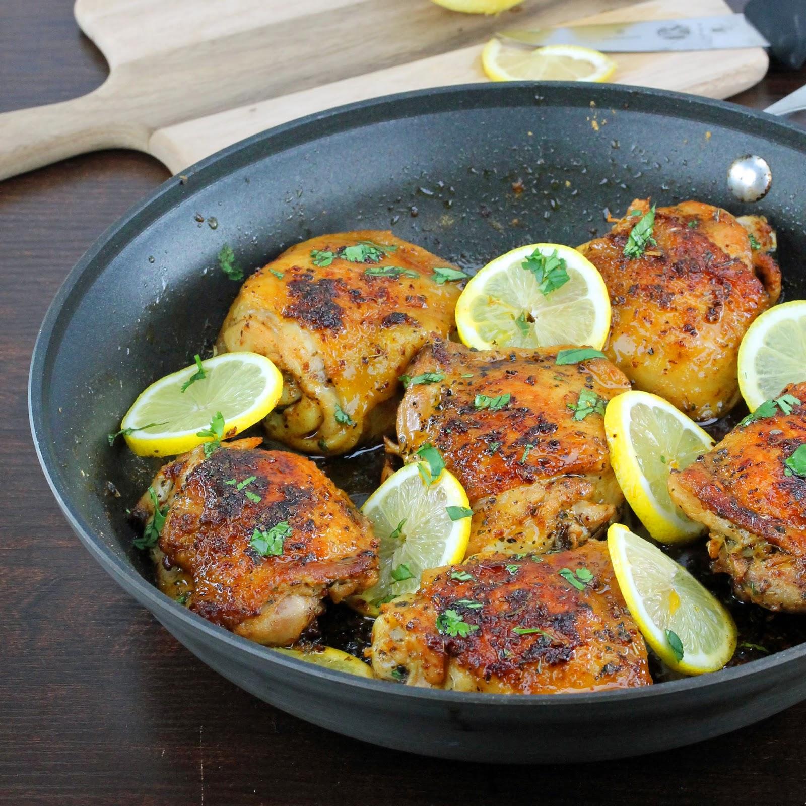 Easy skillet chicken thigh recipes