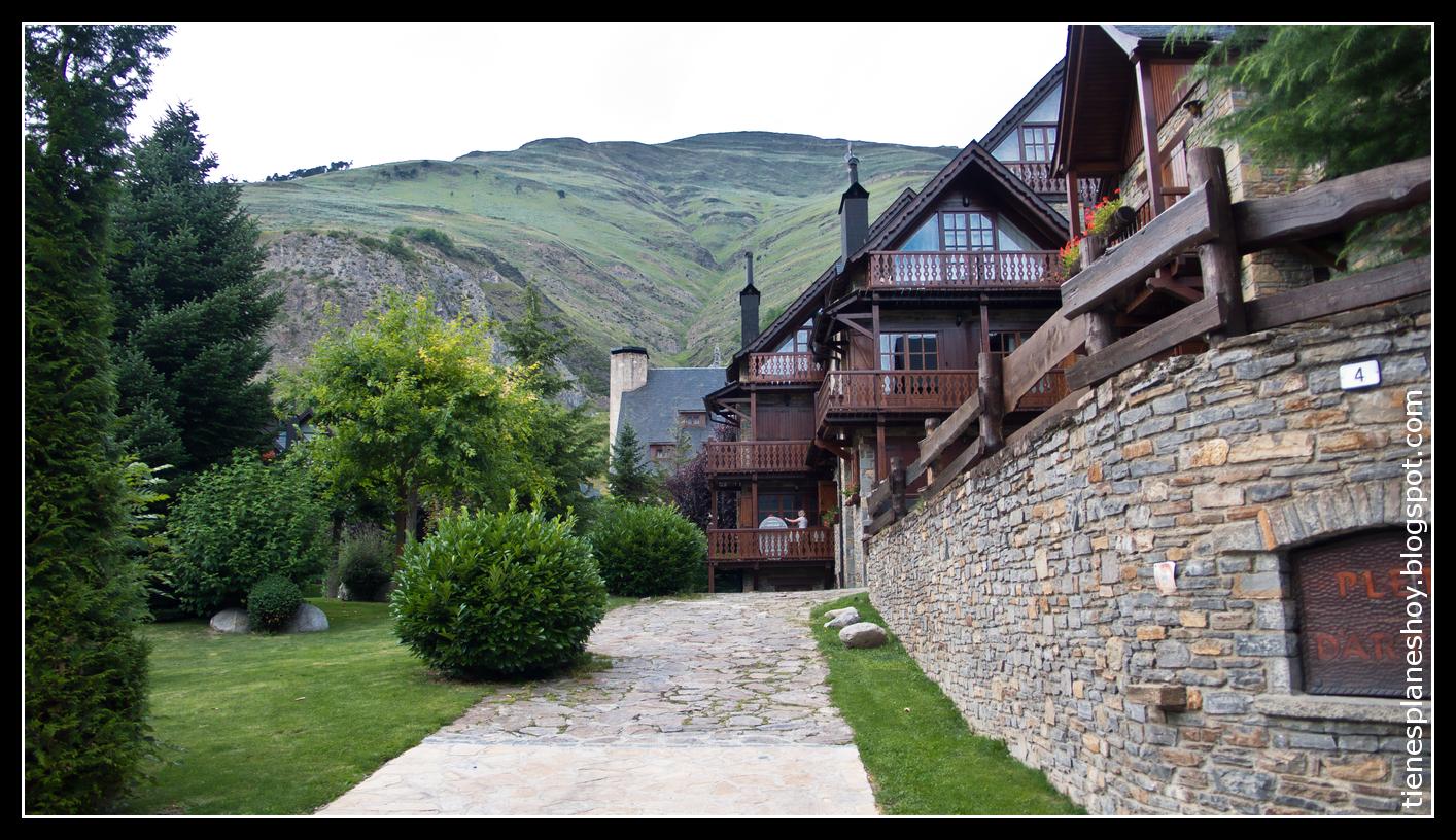Arties y salard pueblos pirenaicos en el valle de ar n - Inmobiliarias valle de aran ...
