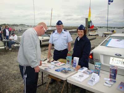 FLOTILLA 16-07 INFO BOOTH AT SHORE ACRES YACHT CLUB