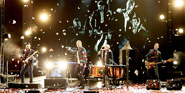 coldplay live in concert