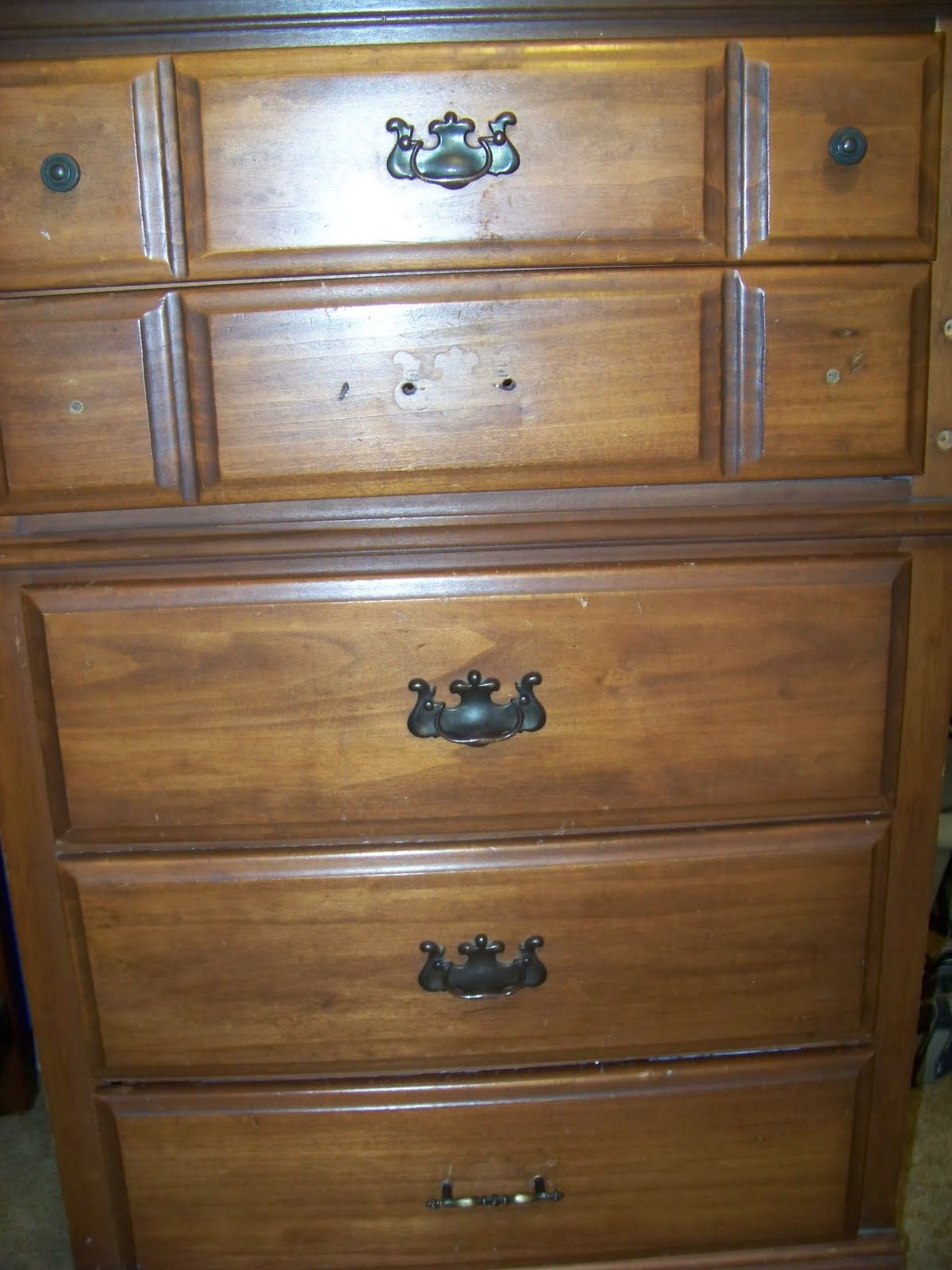 bedroom furniture makeover. The Wood Is Scratched And Hardware Missing. Bedroom Furniture Makeover O