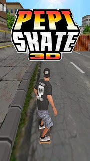 Screenshots of the Pepi skate 3D for Android tablet, phone.