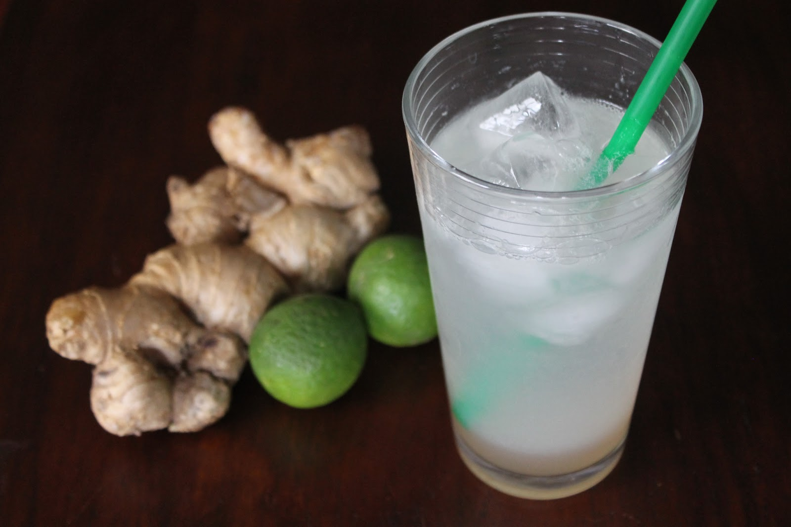 Cookin' & Craftin': Ginger Lime Fizz