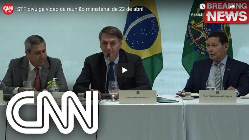 [Meninos, eu vi] A reeleição de Jair Bolsonaro (em 22 de maio de 2020)