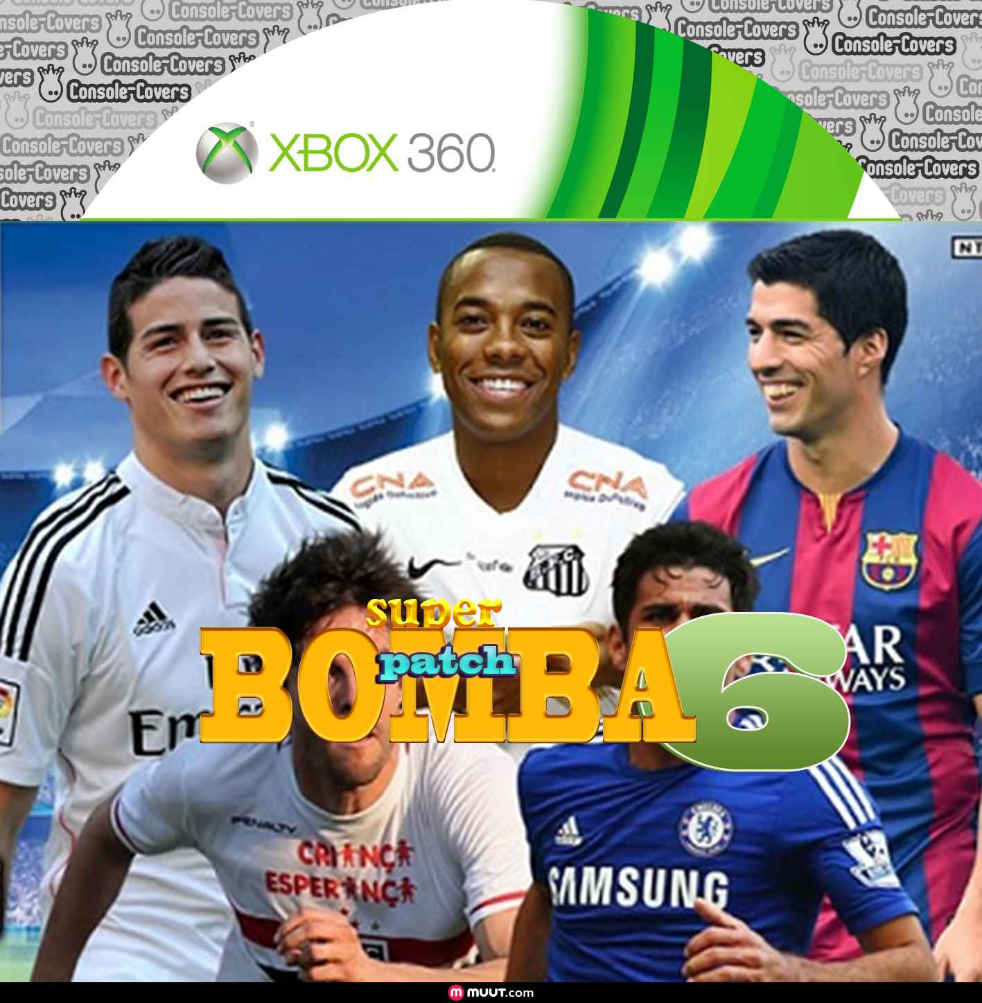 Label Bomba Patch 6 Xbox 360