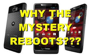 Help!  My Droid RAZR M is Rebooting itself!