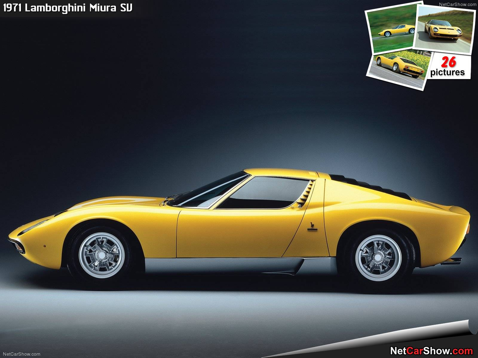 My Wallpaper Collection Lamborghini Yellow Classic Wallpapers