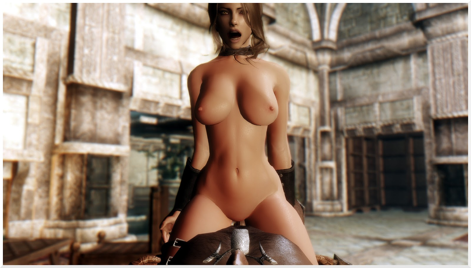 Skyrim nude sexy hot girls cartoon hardcore video
