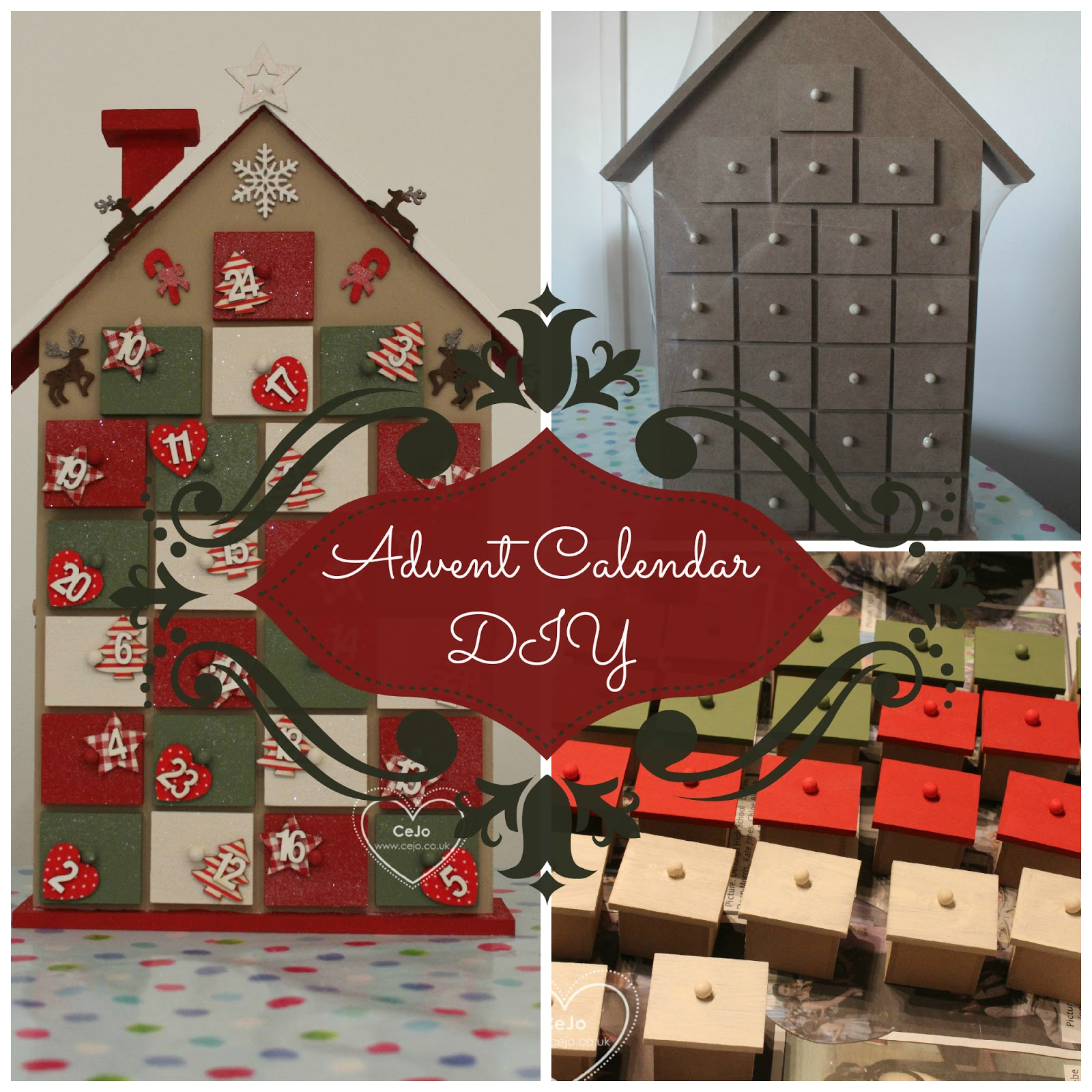 Things christmas diy advent calendar house cejo hobby craft advent calendar solutioingenieria