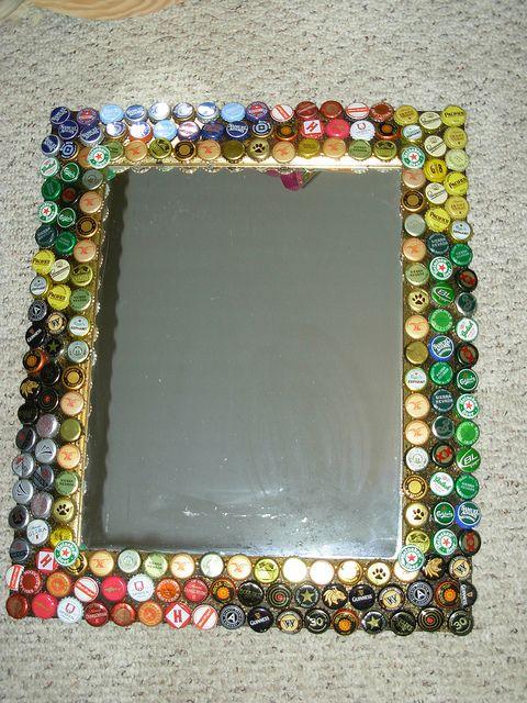 Reciclar reutilizar y reducir fabulosas ideas para for Marcos de espejos originales