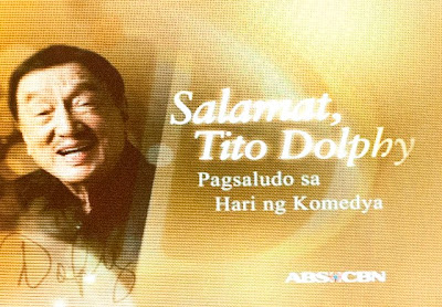 Salamat Tito Dolphy, an ABS-CBN tribute