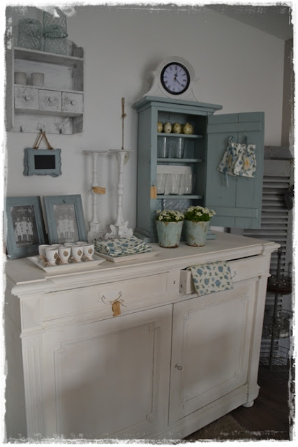 frau k shabby chic osterdeko im laden On shabby chic laden