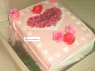 THIN BOOK CAKE