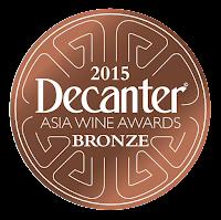 """Résultat de recherche d'images pour """"bronze medal decanter asia wine awards"""""""