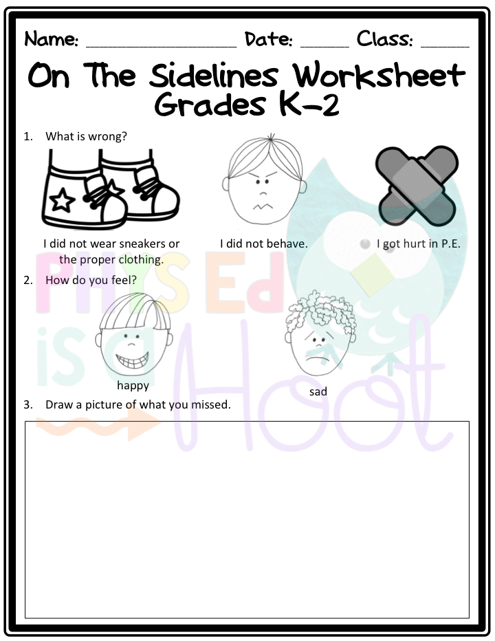 Physical Education Worksheet Sharebrowse – Physical Education Worksheets