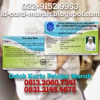 buat kartu pelajar nisn nasional indonesia bandung idcard murah