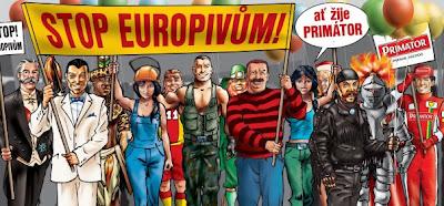 Stop europivům