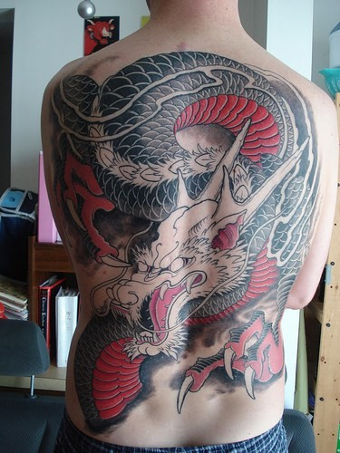 Tattoo Library -The fascinating world of bodyart: Dragon ...