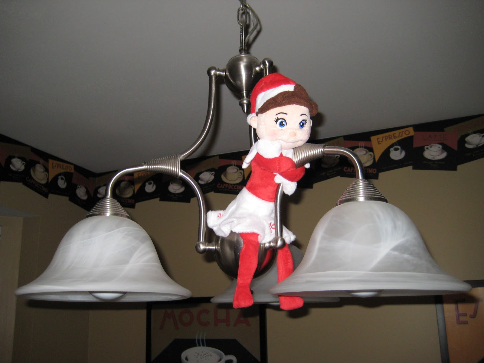 The Orf Family: Meet Ella, Elf on the Shelf!