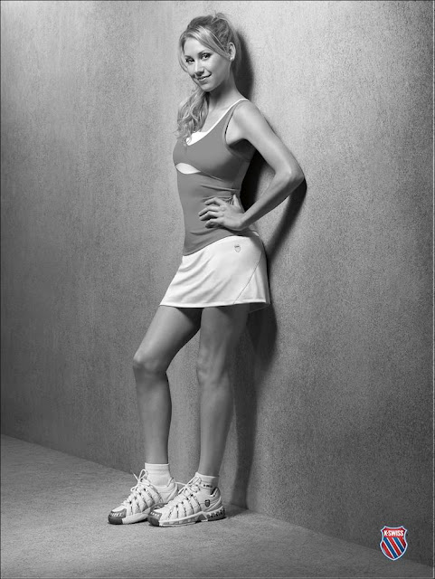 Anna Kournikova at K-Swiss Photoshoot