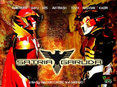 Tokoh Superhero Indonesia | Satria Garuda
