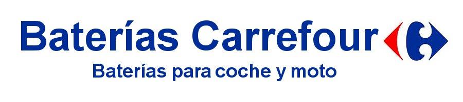 Baterías Carrefour Baterías para coche y moto