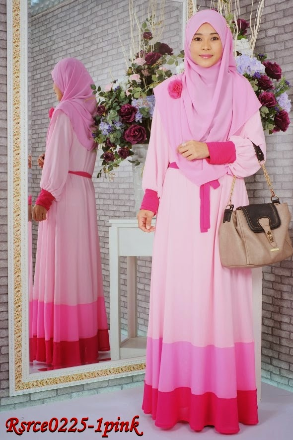 PROMOSI RAYA SALES CHIFFON WITH FULL LINING DRESS