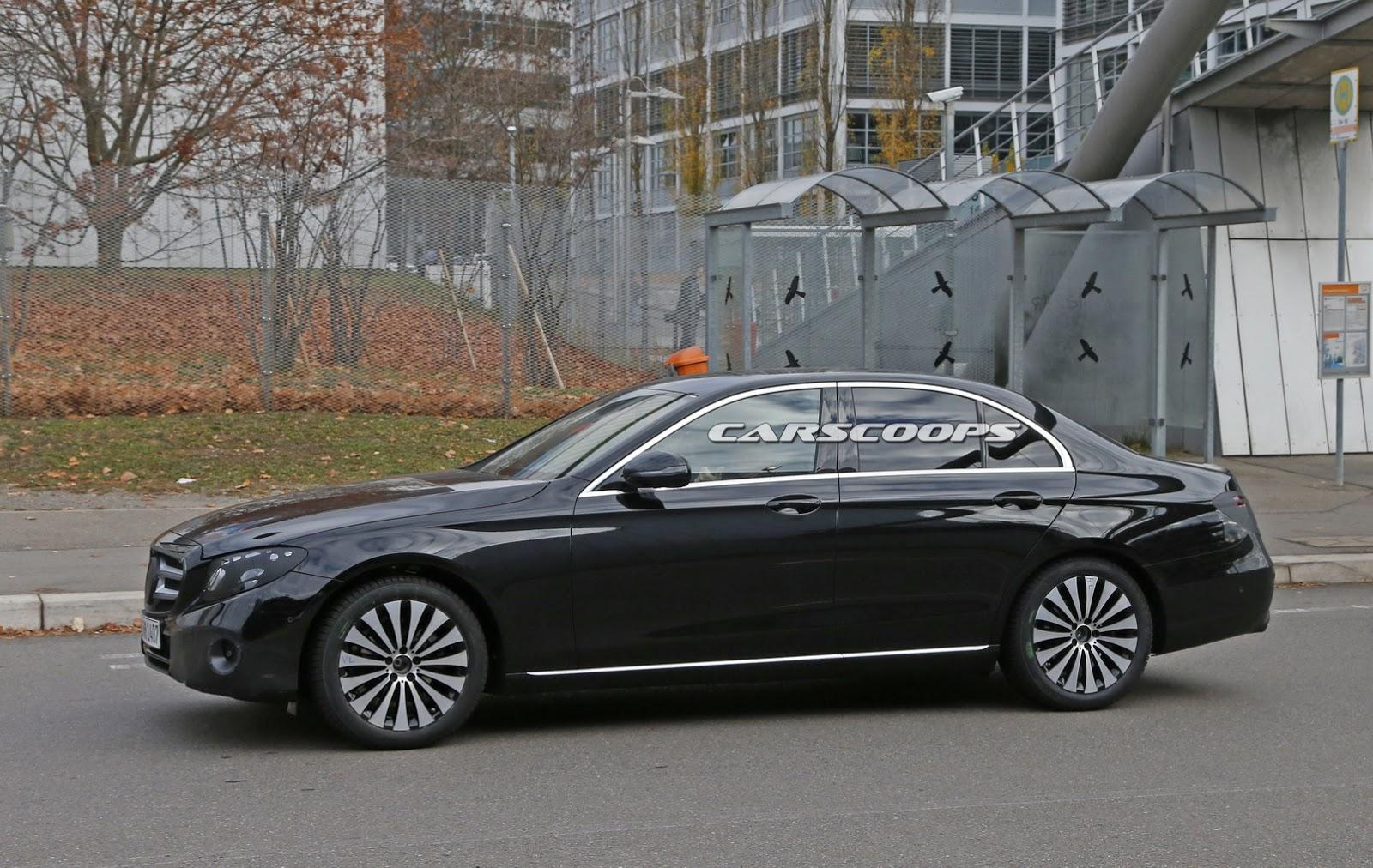 2017 mercedes benz e class first official look at for Mercedes benz e class sedan