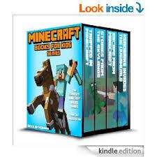 Minecraft eBook 4 Novel Set for Kids