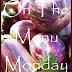 ON THE MENU MONDAY~ OCTOBER 1, 2012