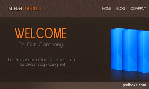 Photoshop Tutorial  Product Website Template